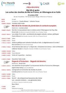 Mai 68 et après: Les suites des révoltes de Mai en France, en Allemagne et en Italie