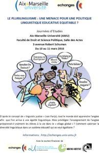 Le Plurilinguisme: menace pour une politique linguistique éducative équitable?