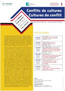 Cycle de conférences «Conflits de cultures, cultures de conflits»