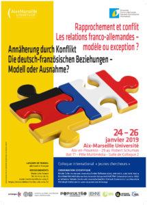Rapprochement et conflit. Les relations franco-allemandes – modèle ou exception?