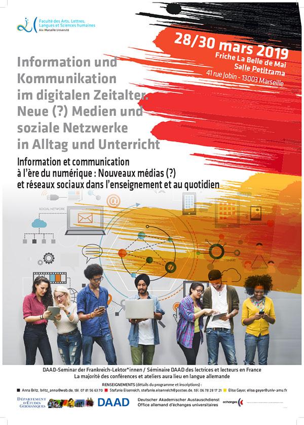 Information und Kommunikation im digitalen Zeitalter. Neue (?) Medien und soziale Netzwerke in Alltag und Unterricht