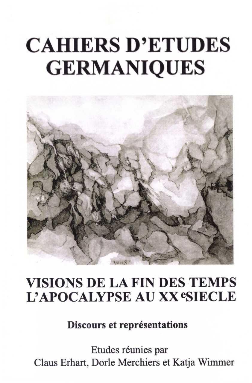 Visions de la fin des temps. L'apocalypse au XXe siècle. Discours et représentations.