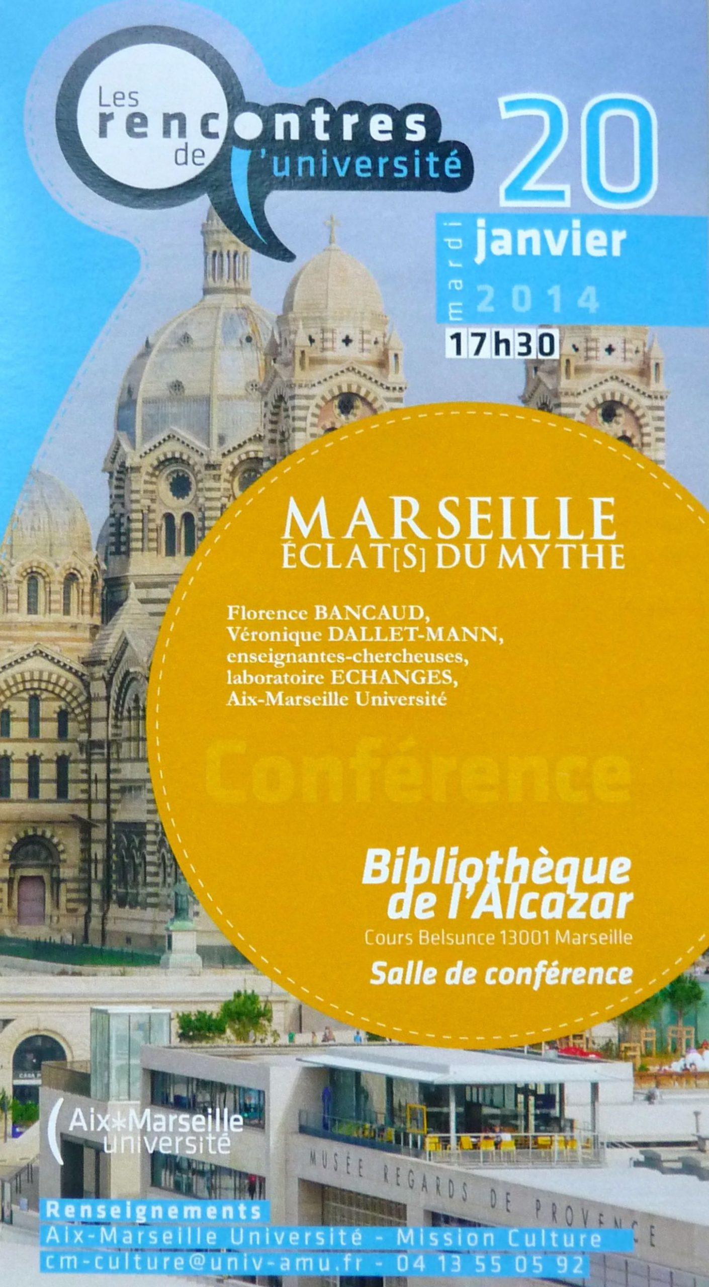 «Marseille. Eclat(s) du mythe»