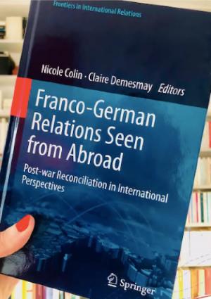 Conférence de Claire Demesmay : Les relations franco-allemandes vues de l'extérieur
